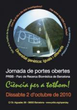 Open Day 2010 al PRBB
