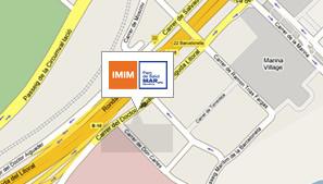 Mapa de situación del IMIM