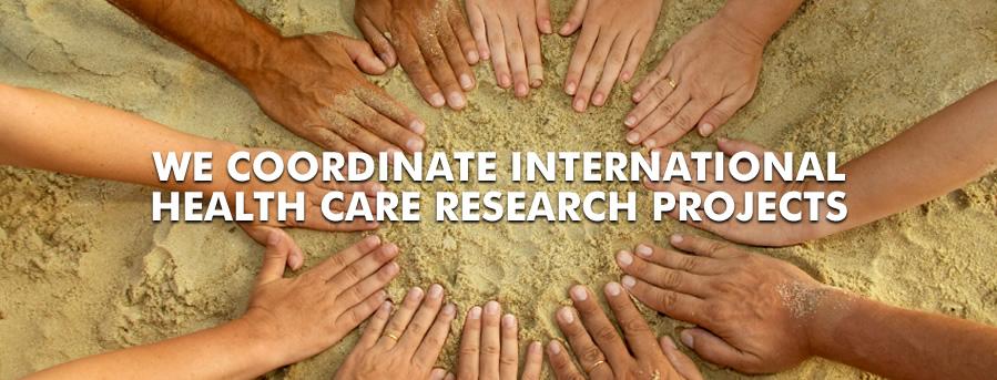 coordinem projectes internacionals en salut